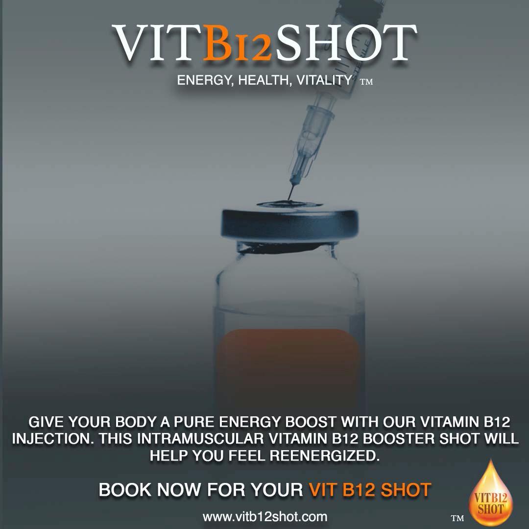 Vitamin B12 Book Now